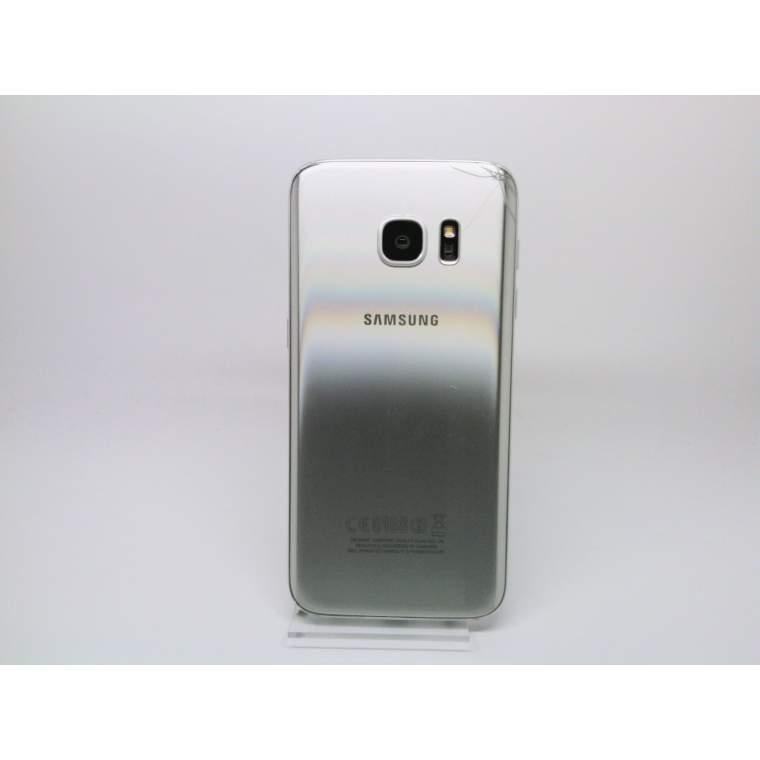 samsung galaxy s7 sm g930f 32gb silver titanium teildefekt ohne garantie ebay. Black Bedroom Furniture Sets. Home Design Ideas