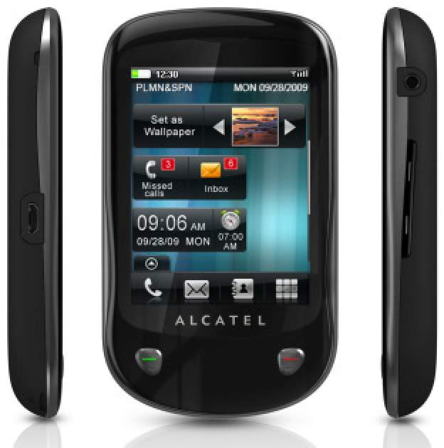 Alcatel One Touch 710 schwarz