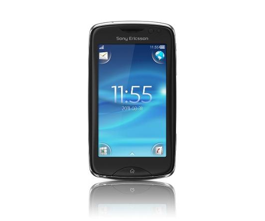 Sony Ericsson txt pro schwarz