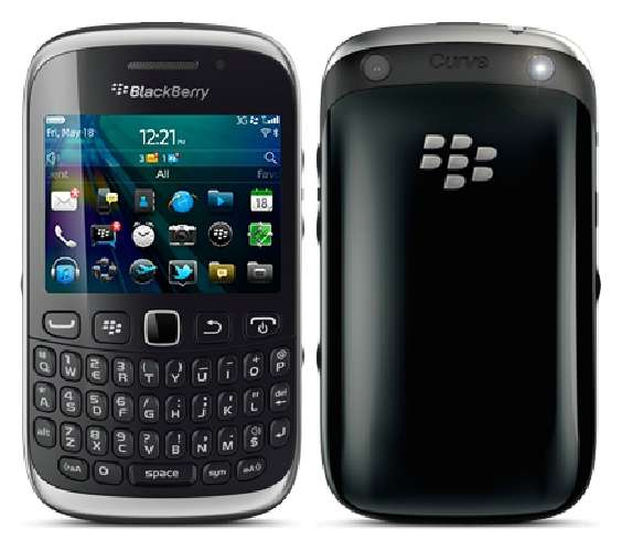 BlackBerry Curve 9320 piano black